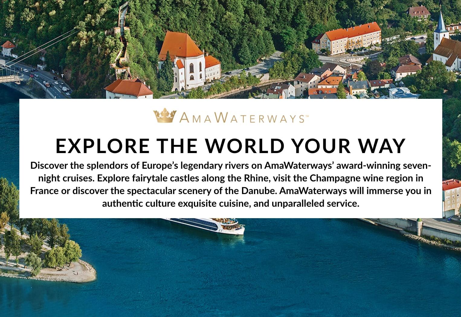 AMA Waterways Email