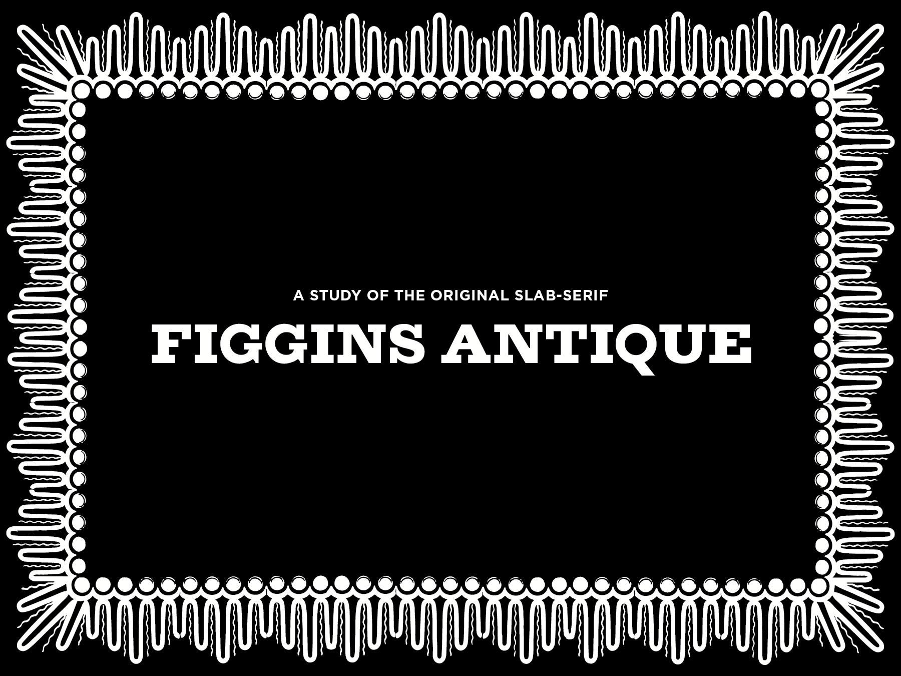 Typeface Antique
