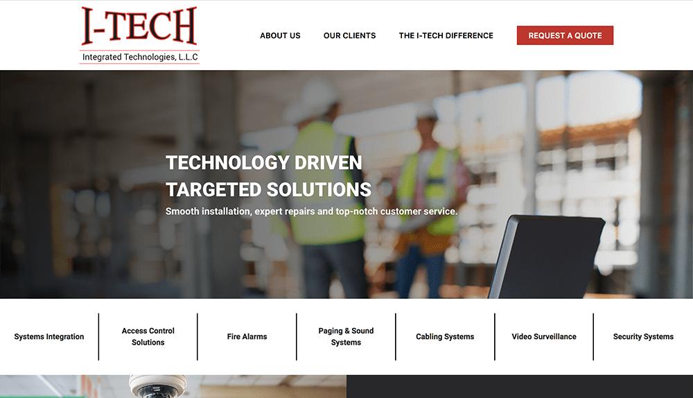 I-Tech Integrated Technologies Website