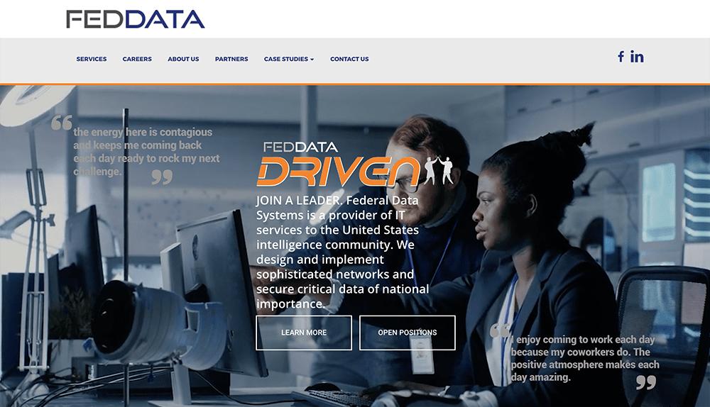 Fed Data Website