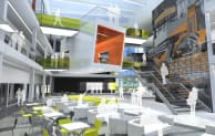HLM Archites' heart of the Campus for Sheffield Hallam University