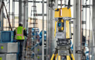 Topcon's GTL-1000 combines the features of a robotic total station with a laser scanner (Todd Gardner)