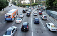 Image: Traffic in Los Angeles, California (Prayitno/Wikimedia Commons)