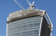 William Hare worked on the Walkie Talkie building in London