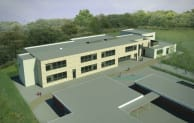 The Canterbury Primary School is being built by Wates