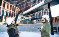 Danish contractor Juul & Nielsen is currently using GenieBelt on the construction of The Maersk Building in Copenhagen