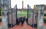 A team from Willmott Dixon join colleagues from the University of Birmingham to open the new high-tech green space.