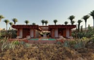 Image: A completed chalet in Todos Santos (Habitas)