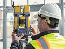 Topcon's GTL-1000 robotic total station incorporates a high-quality laser scanner