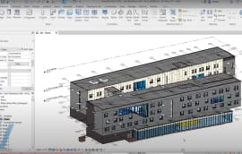 Image: a screen grab of Revit 2022 in action.
