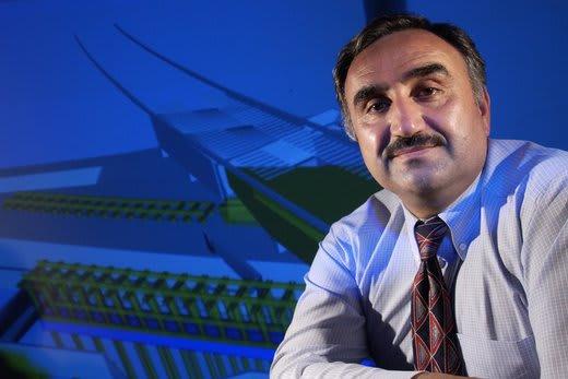 Nashwan Dawood, of Teesside University
