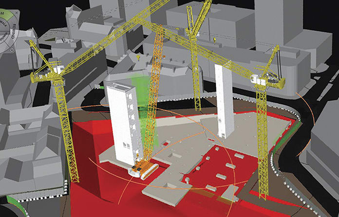 Creagh modelled three concrete cores in Revit to meet a 16-week delivery date on its HSBC Sheffield project