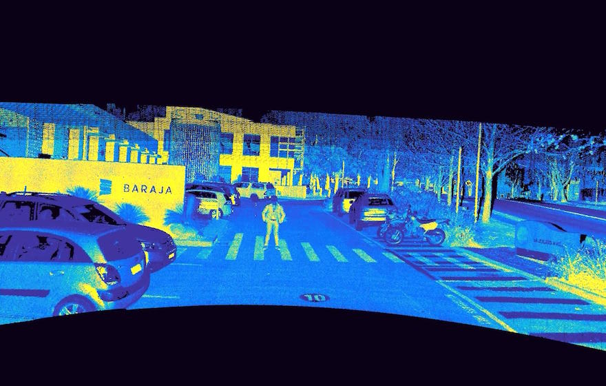 Image: Baraja says it's lidar system is more tolerant to factors like heat, shock and vibration.