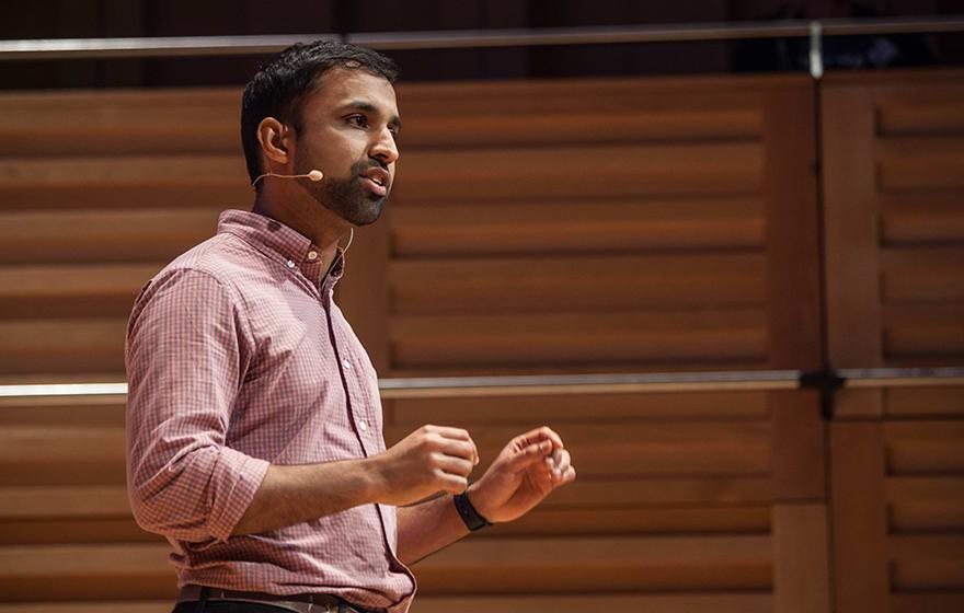 Dev Amratia speaks at Digital Construction Week