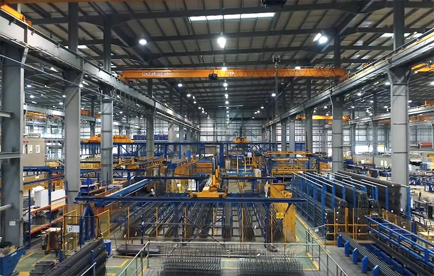 Image: Laing O'Rourke's Explore Industrial Park in Worksop is the most automated concrete products facility in Europe