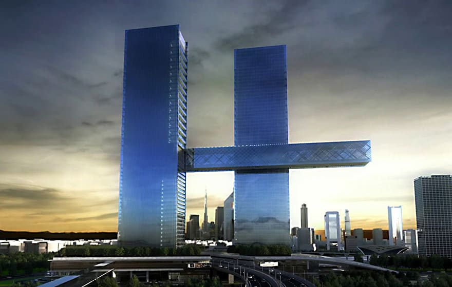 Artist's render of Dubai's One Za'abeel (Ithra Dubai)