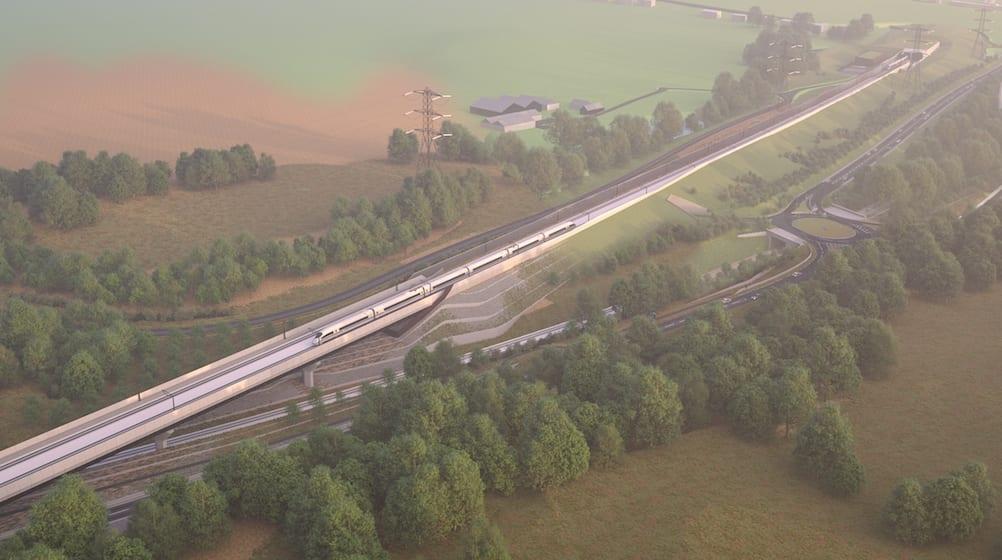 Image: Small Dean Viaduct/HS2 Ltd