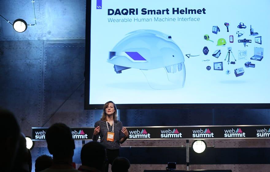 Gaia Dempsey, co-founder Daqri and managing director Daqri International