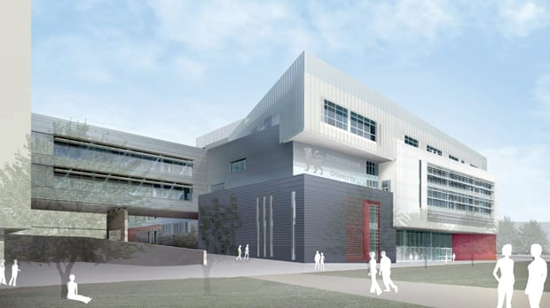 This extension to BCU's city centre campus opens in autumn 2013