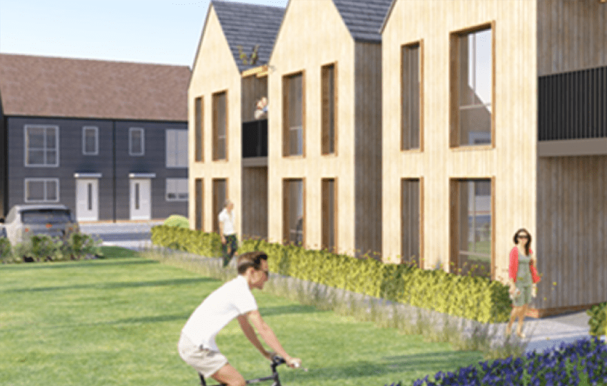 Picture: An example of what the homes could look like (Accord)