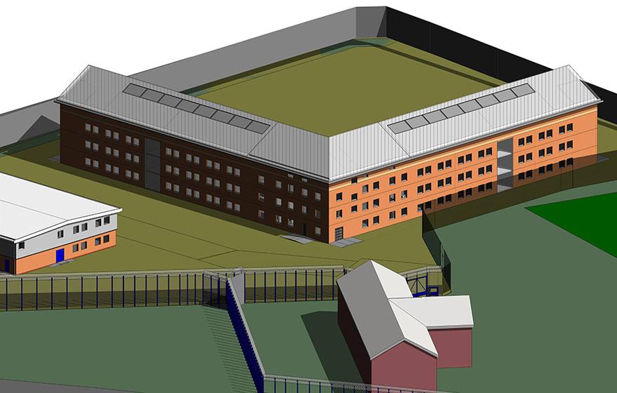 Interserve used BIM Level 2 on Cookham Wood prison