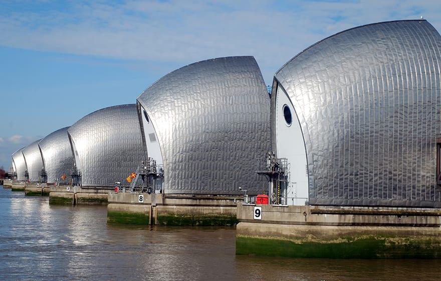 Thames Barrier Image: Mirrormere/Dreamstime.com