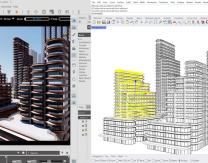 Image: a screen grab of the Omniverse platform in action (courtesy of Foster + Partners)