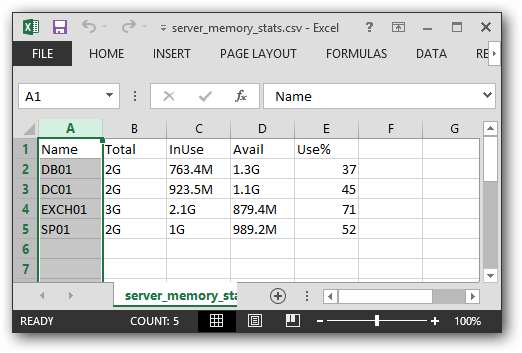 PowerShell Function for Windows System Memory Statistics   Binary Nature