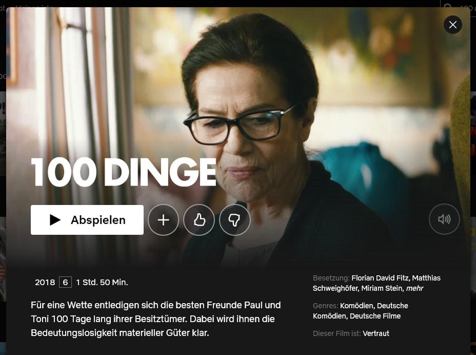 Screenshot Netflix