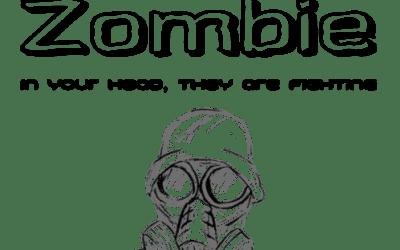 Zombie mit Grafik