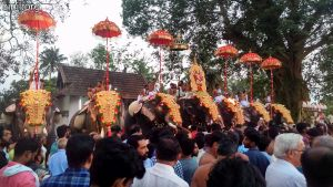 Peruvanam Mahadeva Temple Pooram 2019