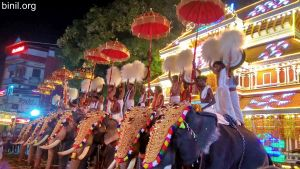 Paramekkavu Bagavathi Temple Vela on 3rd and 4th Jan 2020