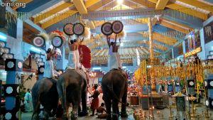 Thiruvambadi Sri Krishna Temple Vela - Punkunnam Desapattu on 7th Jan 2020