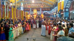 Thiruvambadi Sri Krishna Temple Vela on 10th Jan 2020