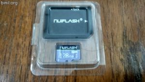 Nuiflash 128 GB Micro SD Card
