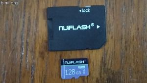 Nuiflash 128 GB Micro SD Card