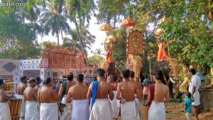 Thrissur Chelakkottukara Kulamuttam Sree Maha Vishnu Temple Pooram 2020