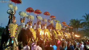 Sree Kuttiyankavu Bhagavathi Temple Pooram 2020