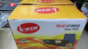K-Win True Solar Hybrid PCU 2100 Review