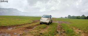 A Palakkad Trip - Harish's Tata Nano car