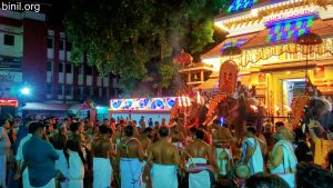 Paramekkavu Bagavathi Temple Vela on 8th Jan 2021