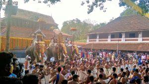 Kuttanellur Sree Durga Bhagavathi Temple Pooram 2021