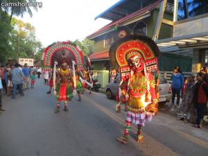 Kizhakkumpattukara Thekkumuri Kummatti 2015