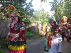 Thrissur Chelakkottukara Kummatti 2015