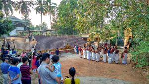 Thrissur Chelakkottukara Kulamuttam Sree Maha Vishnu Temple Pooram 2019