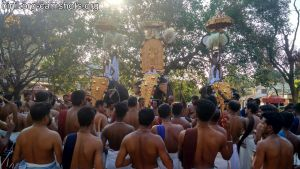 Valarkavu Sree Durga Bhagavathi Temple Pooram 2019