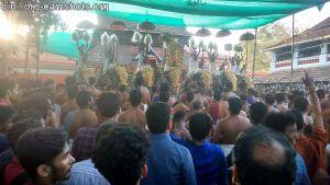 Kuttanellur Sree Durga Bhagavathi Temple Pooram 2019