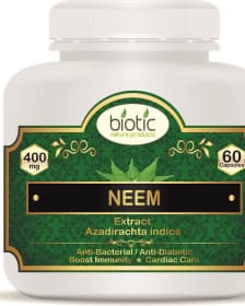 Neem Extract Capsules for Boost Immunity