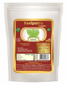 Baelpatra Powder - Ayurvedic powder for lower blood sugar level and for diabetes and for colic pain dyspepsia
