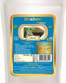 Brahmi Powder - Herbal powder for memory booster and for brain booster and for boost immune system